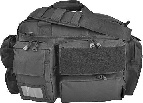 Taktische Einsatztasche/Securitytasche mit Laptopfach (aus Cordura) - erhältlich in vielen Farbe Black