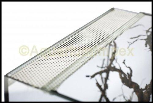 Glas Terrarium mit Belüftung 30x25x25 cm 30 25 - 2