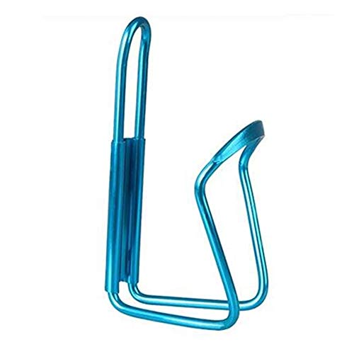 Botella de bicicleta de montaña, Titular de la botella de aleación de aluminio de bicicletas botella de agua de bicicletas de montaña Can jaula de soporte del estante de ciclo Ciclo Accesorios para MT