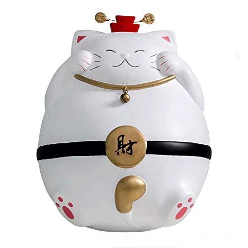 XHAEJ Los bancos con gato de la suerte, las monedas se pueden utilizar como decoración del hogar regalos