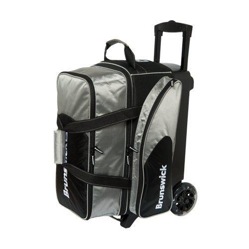 Brunswick Flash C Doppel Roller Bag, silber