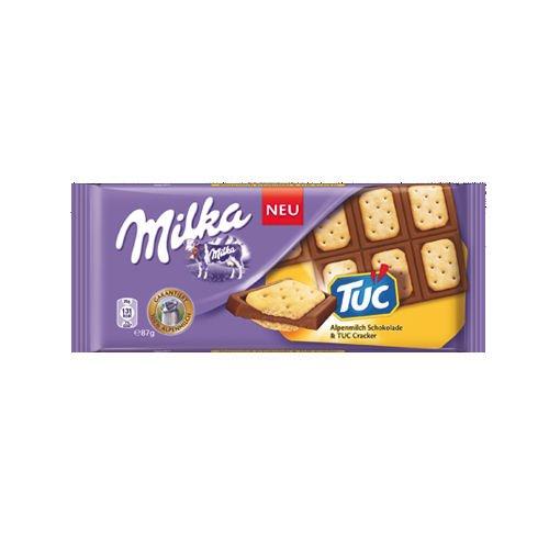 Milka Crackers Tuc