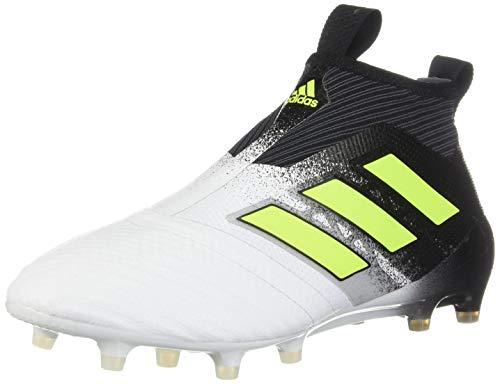 adidas ACE 17+ PURECONTROL - Botas de fútbol para hombre, blanco (Ftwwht), 43 EU