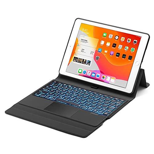 HaoHZ Funda con Teclado para iPad 10,2 Pulgadas 2020/2019 8.a / 7.a Generación,...