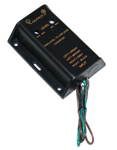 Aerzetix autoradio Altoparlante Amplificatore a RCA convertitore Adattatore
