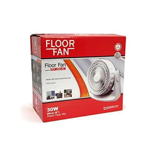 Ventilatore Star Floor Fan 20cm 30W–Advanced Star