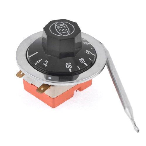 Sourcingmap a13070900ux1407-30-80 grados centégrados de temperatura ajustable termostato regulador capilar