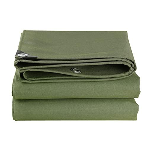 AYHMT Lona impermeable, verde resistente al agua, con las características de antienvejecimiento, resistencia a la corrosión y resistencia al desgarro, se puede utilizar durante todo el año, verde