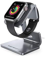 Lamicall Standaard voor Apple Watch - Laadstation Houder Compatibel met iWatch Series 5 4 3 2 1 - Grijs