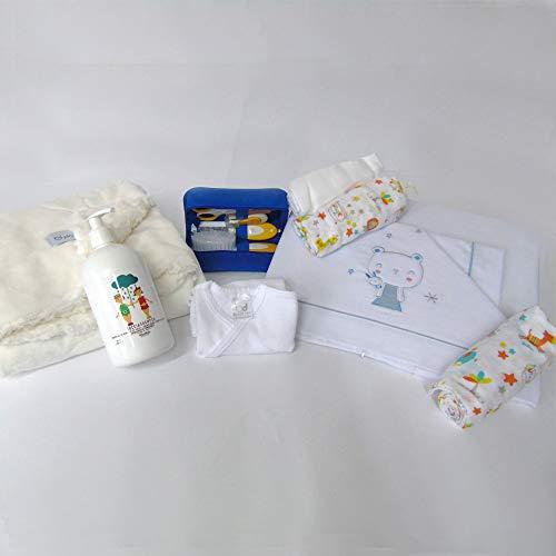 Cadeauset geboorte 16-delig Unisex geboorte bedlaken Next to me badpak halve lange mouwen mouwen mousselin en badset