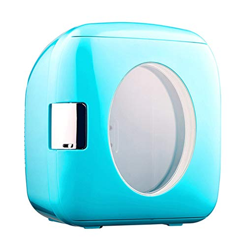 LQIQI 9L Mini Nevera Barata para el Dormitorio Coche Vintage Mini portátil...