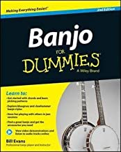 Bill Evans: Banjo for Dummies : Book + Online Video and Audio Instruction (Paperback - Revised Ed.); 2014 Edition