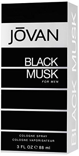 Jovan Black Musk Eau De Cologne Spray para hombres 90ml