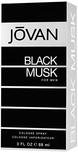 Jovan Black Musk by Jovan for Men - 3 Ounce Cologne Spray
