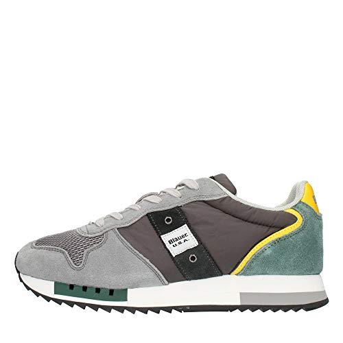 Blauer Sneaker Queen s01 Grey Yellow (Numeric_44)
