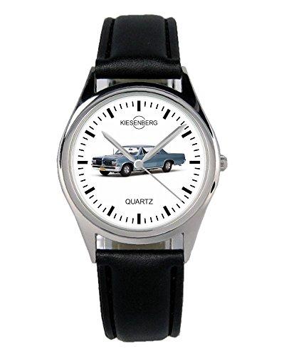 Geschenk für Pontiac GTO Blau Oldtimer Fans Fahrer Kiesenberg Uhr B-1913