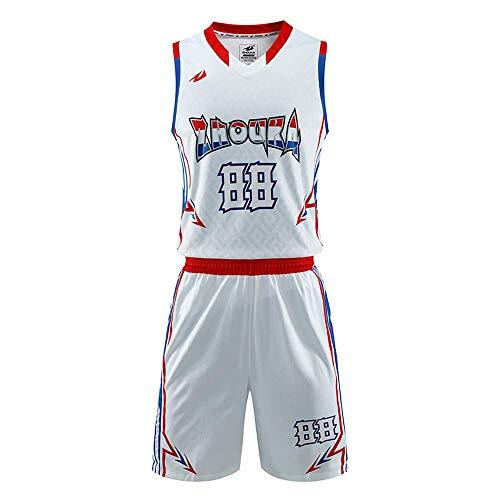 LAFE NBA Abbigliamento Basket Maglia da basket americana da uomo Miami New York Completo da basket completo senza maniche Gilet Pantaloncini