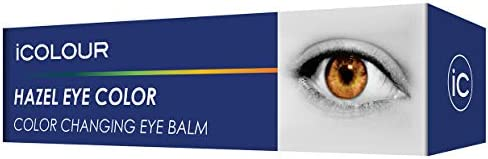 iCOLOUR Color Changing Eye Balm - Change Your Eye Color Naturally - 1 Month Supply - 4.3 g (Silver)