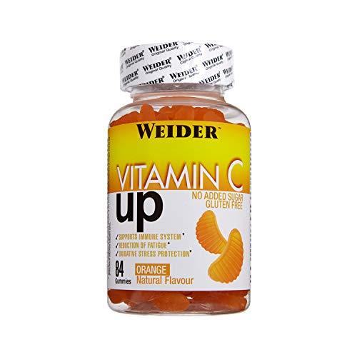 JOE WEIDER VICTORY Vitamin C Up. 84 gummies de Vitamina C. Sin azúcares y libre de gluten