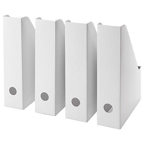 IKEA Fluns Stehsammler, in Weiß 16-teilig weiß