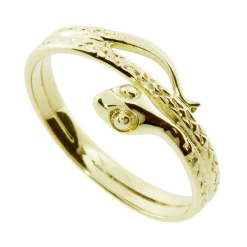 InCollections Damen-Ring 333/000 Gold Größe 64 (20.4), Schlange 461A170958100