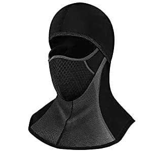 ROTTO Balaclava Winter Ski Mask Thermal Full Face Mask for Motorcycle Riding Cycling Wind Resistant
