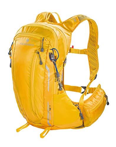 Ferrino Unisex– Erwachsene Zephyr Rucksack, gelb, 12 + 3L