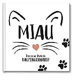 Miau - Für Katzenlieberhaber: Typo-Art Geschenkbuch für Katzenliebhaber.