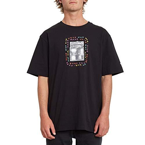 Volcom Amping Bxy Ss Herren-T-Shirt M Schwarz