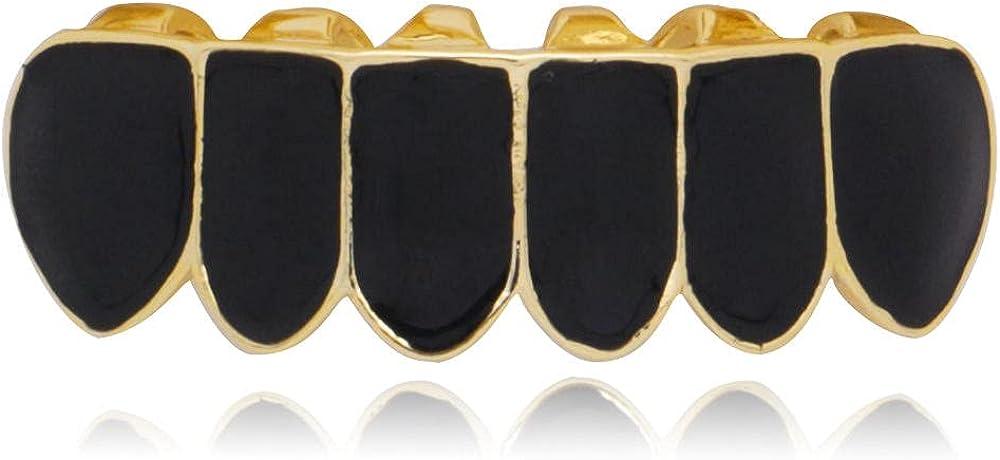 Hip Hop Teeth Hip hop braces hiphop real gold plating black gold false braces hip hop jewelry
