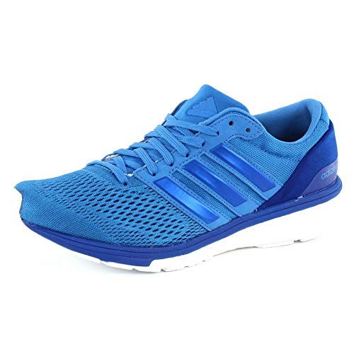 adidas Women's Adizero Boston 6 Trail Running Shoes, Blue (Color Ray Blue/Ray Blue/Bold Blue), 3.5 UK 36 EU