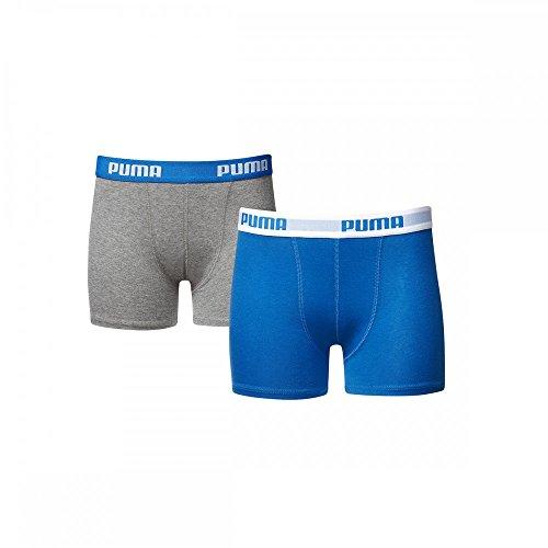 PUMA Herren 525015001 Boxershorts, Blue/Grey, 170-176