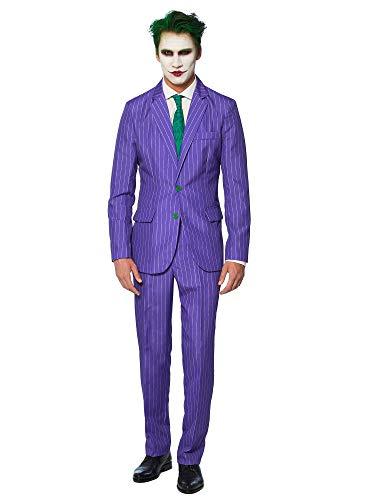 Suitmeister Herren Men Suit Business-Anzug Hosen-Set,The Joker,M