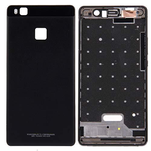 para Huawei P9 Lite Battery Funda Atrás + Carcasa Delantera Marco LCD Placa Bisel (Negro) Durable (Color : White)