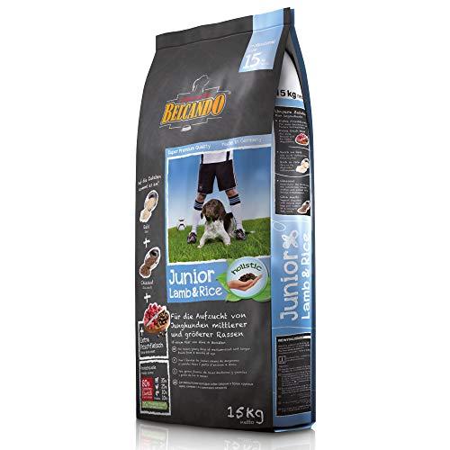 Belcando Junior Lamb & Rice [15 kg] Hundefutter | Trockenfutter für empfindliche Junghunde | Alleinfuttermittel für Junghunde ab 4 Monaten