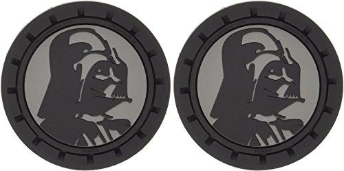 Plasticolor 000673R01 Star Wars Darth Vader Auto Car Truck SUV Cup Holder Coaster 2-Pack