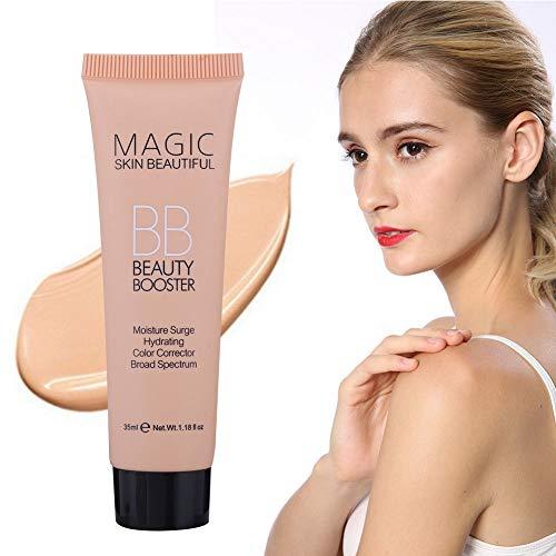 Crema BB FundacióN De Maquillaje, Rotekt Base Líquida De Corrector Iluminador Hidratante Control De Aceite(01)