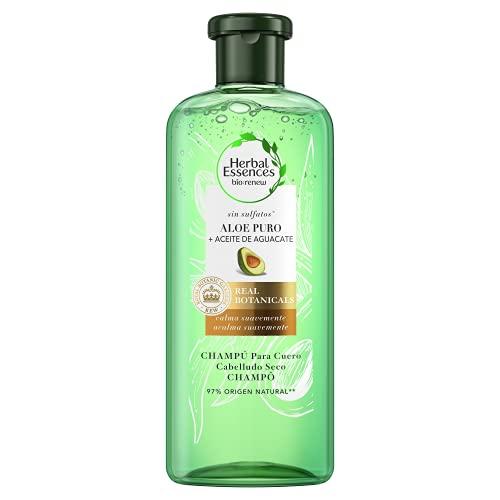 Herbal Essences - Champú bio, 0% sulfatos, con aloe & agua, 380 ml