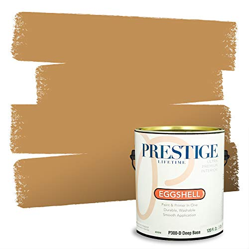Prestige Paints Interior Paint and Primer In One, 1-Gallon, Eggshell, Comparable Match of Sherwin Williams* Bosc Pear*