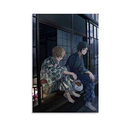 Póster decorativo de anime Natsume's Book of Friends (30 x 45 cm)