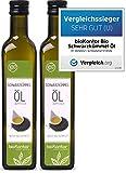 bioKontor // BIO Schwarzkümmelöl ägyptisch - nativ, kaltgepresst, 100% rein - 1000 ml (2x500 ml)