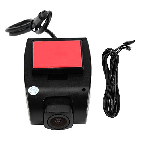Duokon Dash Cam, 1080P HD cámara de coche DVR Dashboard 20FPS Mini cámara de coche DVR Grabadora de conducción para Android