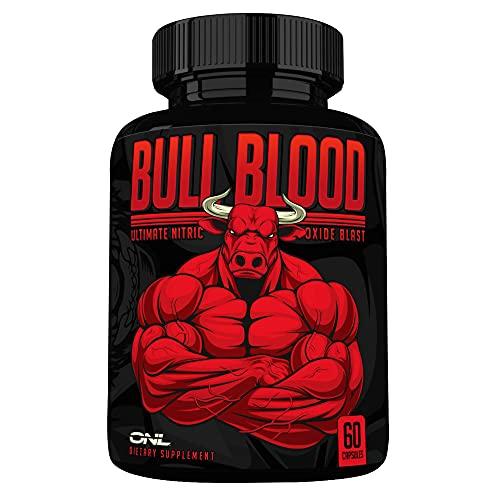 Bull Blood Nitric Oxide Supplement - Extra Strength L Arginine & L...