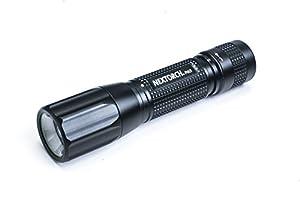 PA5 mit 660 Lumen nach ANSI Standard org. Cree XP-L Neutral-Weiß LED Patentierte Fresnellinse für stufenloses Fokussieren und optimale Lichtverteilung 270m Leuchtweite Patentierte DUO-Switch Technologie inkl.1x 18650 Li-Ion Akku (kann über USB Direkt...