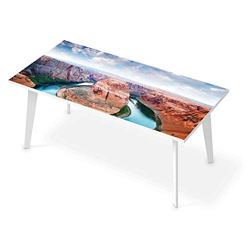 Tisch Sticker Dekoaufkleber I Tischaufkleber Folie - Möbelfolie abwaschbar I Dekoration Küchentisch - Design: Grand Canyon