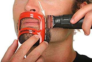 RevoGoatee Goatee Template - Shaping and Edge-up Tool for Goatee Trimming, Shaving, and Lineups - Grooming Kit for Men - O...
