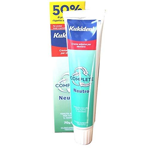 Kukident Complete Crema Adesiva per Dentiera Neutro - 70 gr