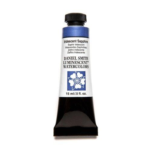 DANIEL SMITH Extra Fine Watercolor 15ml Paint Tube, Iridescent, Sapphire (284640033)