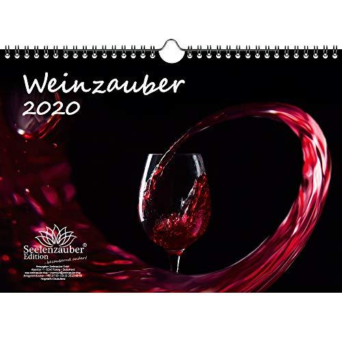 Wijnmagie DIN A4 kalender 2020 wijn en wijnbergen - zielmagie