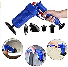 HOME CUBE 1 Pc High Pressure Air Drain Blaster Gun Pump Plunger Sink Pipe Clog Remover Toilets Bathroom Kitchen Pump Drop Shipping Cleaner - Random Color